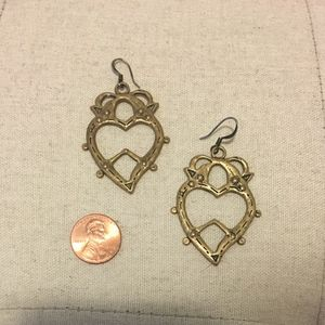 Urban Outfitters Gold Earrings